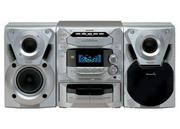 Музыкальный центр Panasonic:  Panasonic: 5 дисковый,  кассета,  2 колонк