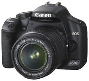 Продаю Фотоаппарат Canon 450 D с флешкой 2 гб.