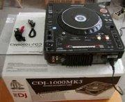 2x PIONEER CDJ-1000MK3 & 1x DJM-800 MIXER DJ PACK+ PIONEER HDJ 2000