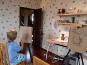 уроки академического рисунка,  графики,  живописи разных техник