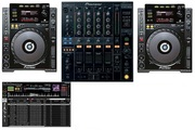 2X CDJ 1000MK3 + 1 DJM 800 DJ PACKAGE