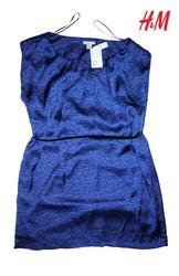 Новое женское платье H&M,  полиэстер,  цвет: аметист,  размер 48-50