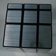 кубик рубика зеркальный 3х3х3 серый Shengshou