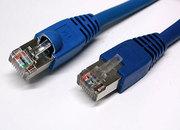 Монтаж,  Прокладка,  Протяжка Сетевого кабеля (UTP) в Алматы