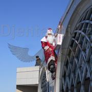 Дед Мороз в Окно,  Алматы