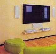 Навеска телевизора на стену в Алматы
