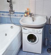 Установка  стиральных и посудомоечных машин,  бойлеров