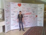 Изготовления пресс-вол и конструкции для баннеров в Алматы