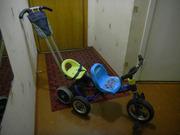 Продам двухместный детский велосипед