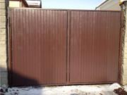 Изготовление распашных ворот (Ryterna)