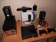 продам xbox360 прошитый freeBoot Kinect, 1 tb hdd, 170 игр, 2 джойстика