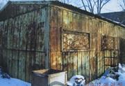 Ангар разборный панельный металлический 72м2