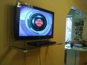 Установка монтаж телевизоров на стену  в Алматы2