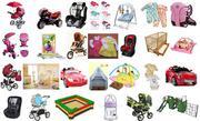 Детские товары в широком ассортименте,  в наличии и на заказ