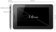 Планшет ViewSonic ViewPad 7D Dual SIM GSM 2G/WCDMA 3G,  GPS,  A-TV