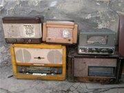 Покупаем старые советские радиоприемники,  радиодетали,  патефоны