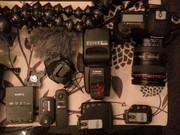 Canon EOS 5D Mark II 21MP DSLR камеры 24-105mm IS L Объектив