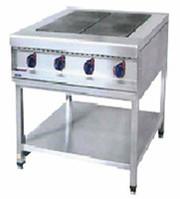 Профессиональные промышленные электрические плиты для ресторана