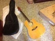 Продам шестиструнную гитару в отличном качестве