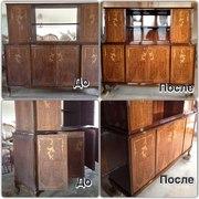 Реставрация мебели и межкомнатных дверей, статуэток