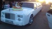 свадебный прокат лимузинов,  прокат авто с водителем от 60 $ час. внедо