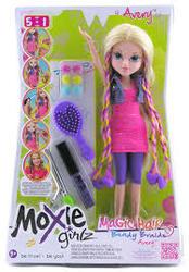 Moxie кукла стильные прически-косы