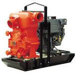 мотопомпа дизельный насос 300 м3/час подача воды полив орошение