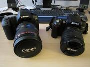 Canon EOS 5D Mark II 21MP DSLR Camera