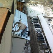 Ремонт балконного козырька( установка козырька на балконе) в Алматы