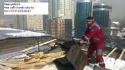Ремонт крыш(плоская на двускатную) в Алматы Владимир