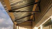 Отремонтируем крышу на балконе в Алматы