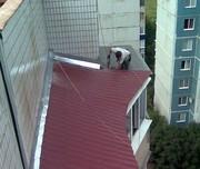 Ремонт (монтаж,  демонтаж балконного козырька) в Алматы