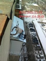 Ремонт крыш балкона  в алматы