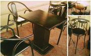 Столы,  стулья для кафе б.у. 60 посадочных мест.