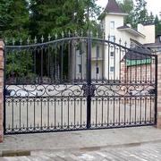Кованые ворота и калитки в алматы