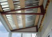 Профессиональный ремонт балконных козырьков в алматы недорого