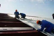 Ремонт крыши из профильного листа(профнастила) в Алматы