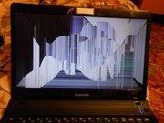 Замена экрана ноутбука в течениe часа!