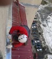 Ремонт балконного козырька(быстро,  надежно) в Алматы недорого