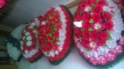 Траурные венки на похороны в Алматы доставка.