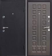 Двери металлические,  утепленные.
