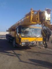 Аренда автокранов,  г/п 25 тонн.