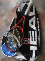 Продам Алматы: Теннисная ракетка HEAD FlexPoint Radical +чехол и сумка