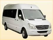 Микроавтобусы от 8 мест до 18 мест развозка персонала работников в Алм