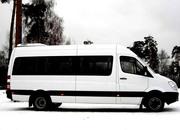 18 местный микроавтобус аренда,  служебная развозка в Алматы