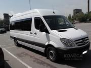 Развозка персонала сотрудников рабочих в Алматы микроавтобусы и автобу