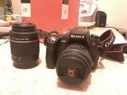 Продам зеркальный фотоаппарат Sony DSLR-A580Y Kit