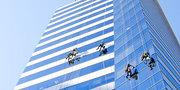 Мойка окон, фасада и витражей в Алматы