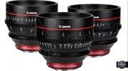 Комплект объективов Canon Cinema Lens 24/50/85mm