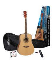 Продам акустическую гитару с чехлом,  ремнем,